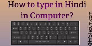 how to type hindi