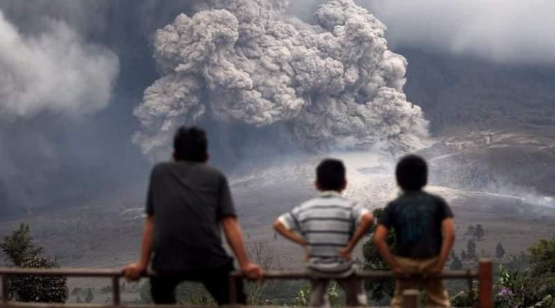 Крупнейшее извержение