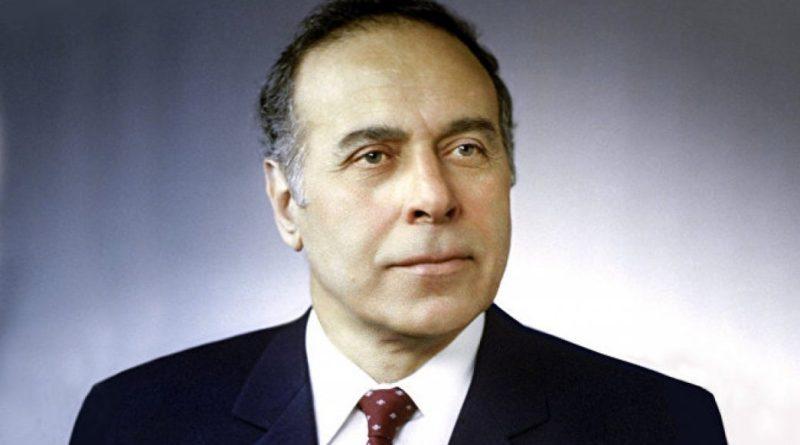 Гейдаром Алиевым