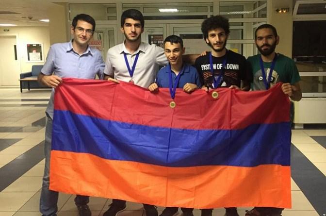 студенческой олимпиаде
