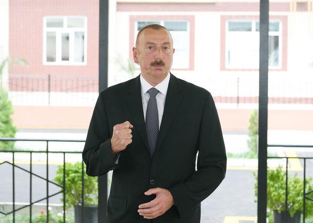Алиев сделал