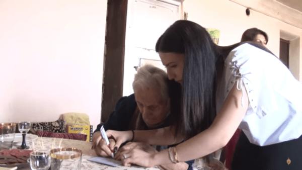 бабушка Айкандухт