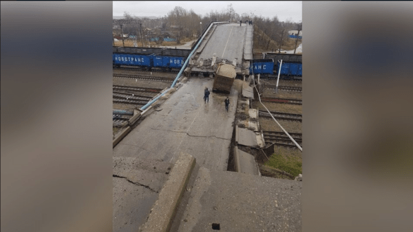 мост рухнул
