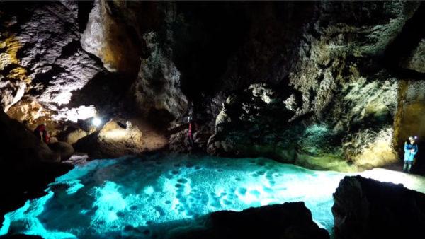 нетронутую пещеру