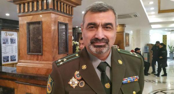 Командующий пограничными войсками Службы национальной безопасности Армении В.Саркисян об охраны дальних подступов к СНГ