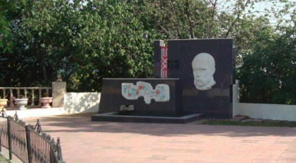 Шевченко убрали надпись
