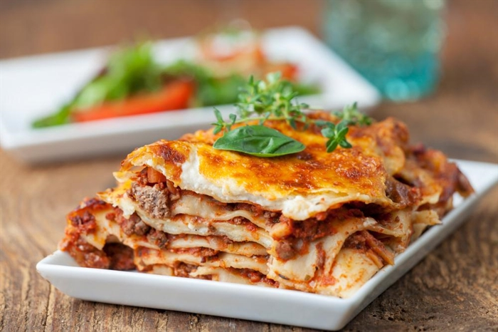 Lasagna from Home for Dinner.