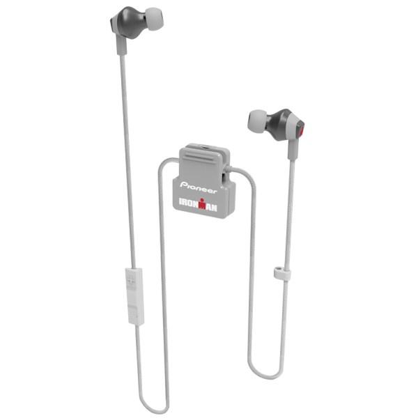 Fone de Ouvido Pioneer Ironman Wireless SE-IM6BT-H - Cinza