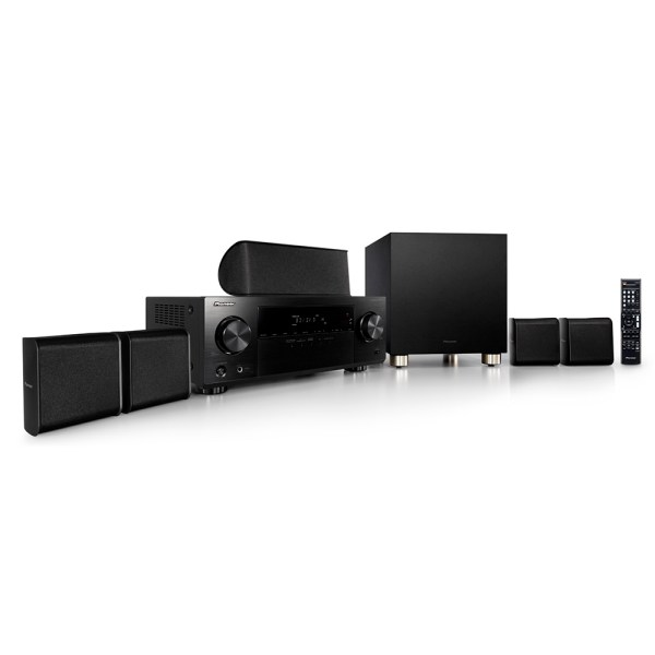 Home Theater Pioneer HTP-074 5.1 Ultra HD 4K HDR Bluetooth