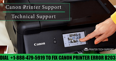 How To Fix Canon Printer Error b203 with The Help Of Professional Assistance