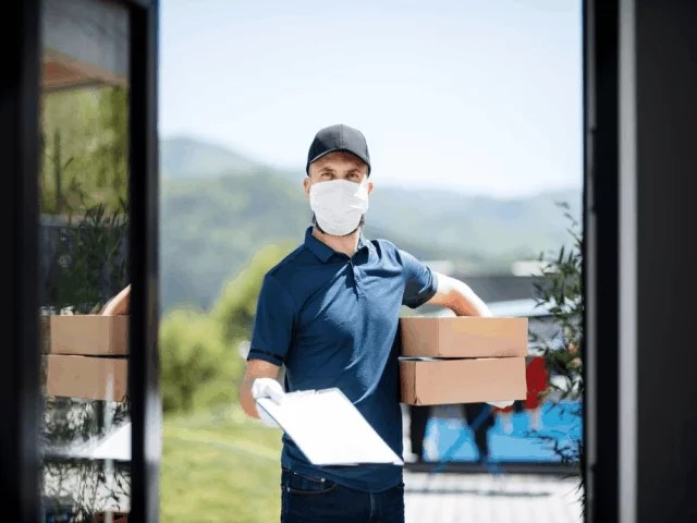Challenges faced by Courier delivery service provider