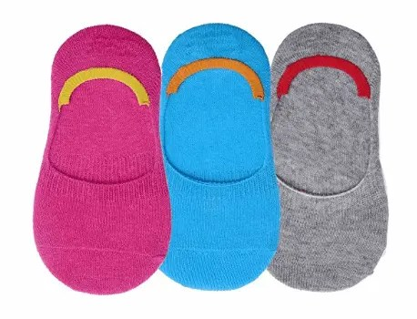 No Show Ankle Style Casual & Formal Wear Socks For Kids
