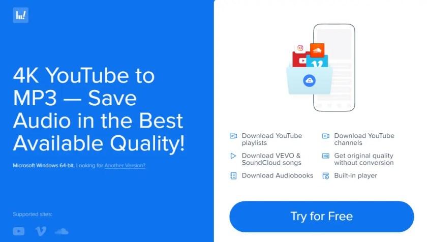 4k youtube to mp3 converter