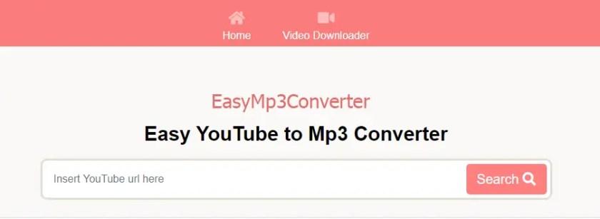 EasyMP3Converter - Easy YouTube to Mp3 Converter