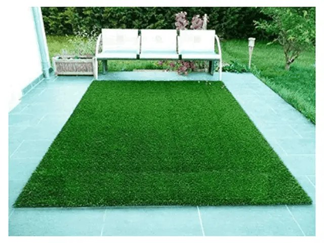 How To Place Artificial Grass Rug In Your Garden 1
