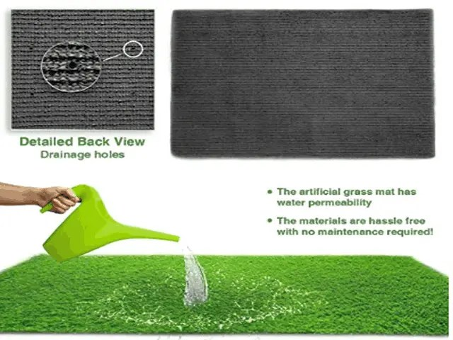 How To Place Artificial Grass Rug In Your Garden 2