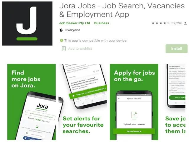 Jora Jobs - Job Search, Vacancies & Employment App Best job search apps