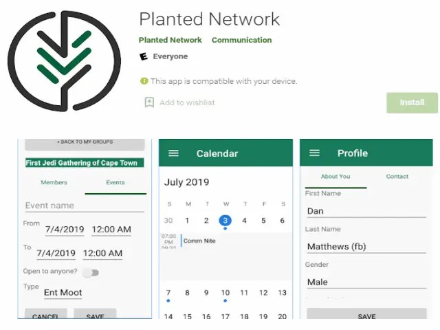 Planted Network Best job search apps
