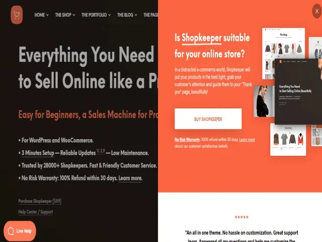 Shopkeeper Top E-Commerce WordPress Theme For Business In 2021