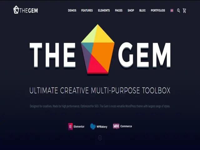 TheGem Top E-Commerce WordPress Theme For Business In 2021