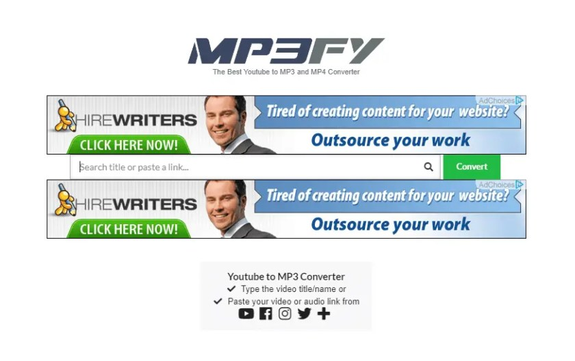 mp3fy best youtube to pm3 and mp4 converter