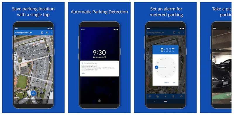 Find My Parked Car - Automatically Locate Car Best Driving Apps 2021 – Enjoy Safer, Easier, and Comfortable Driving