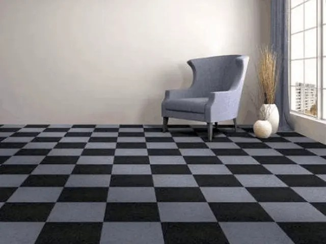 Vinyl Carpet Tile Is A Great Option For Building and Remodeling 2