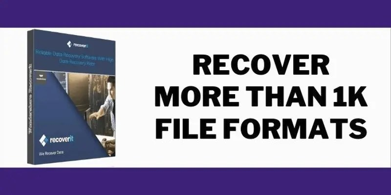 Best data recovery software 2021 Recoverit data recovery software