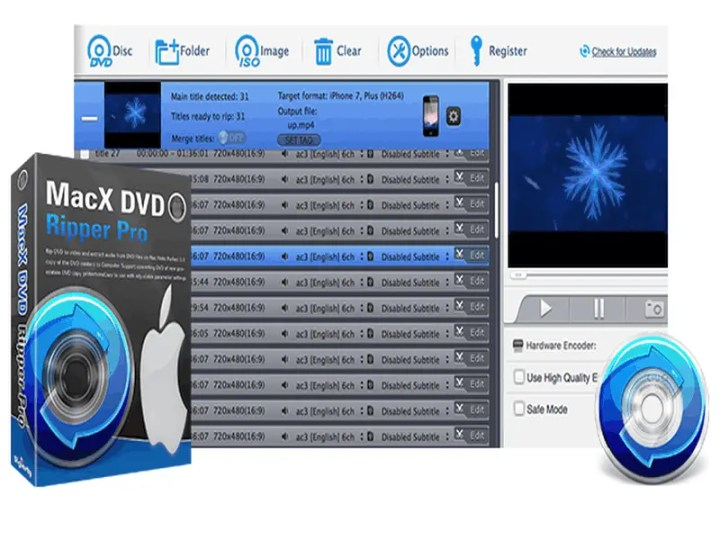 MacX DVD Ripper Pro Best DVD To MP4 Conversion Tool