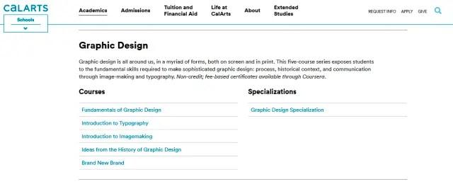 Fundamentals of Creative Design from CalArts