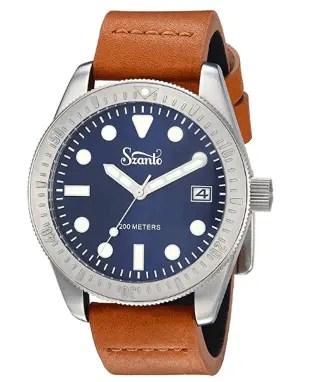 Szanto Vintage Design Sports Watch Collection 10 Best Durable Dive Watches
