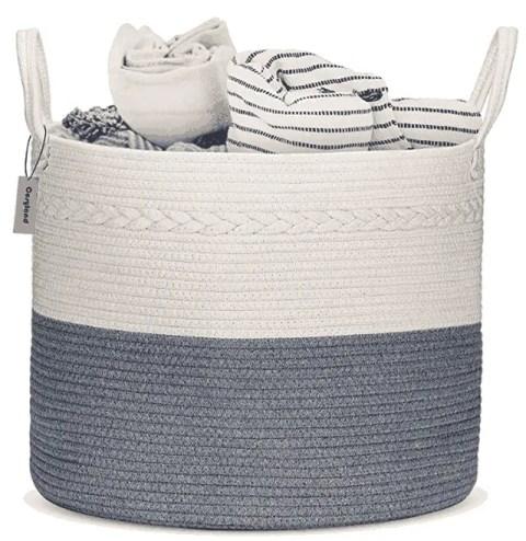 COSYLAND Cotton Rope Basket