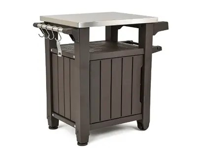 The 12 Best Outdoor Storage Boxes for Your Outdoor Space Keter Portable Outdoor Table