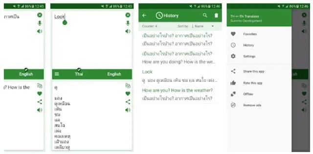 Thai Translator App Pro