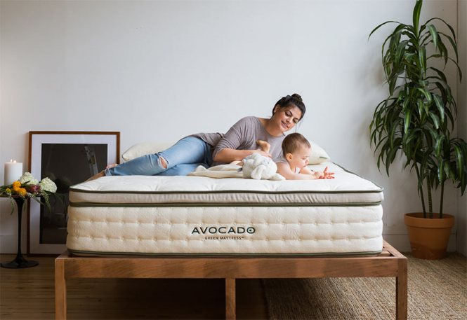This Organic Cotton Mattress Is Free Of Toxic