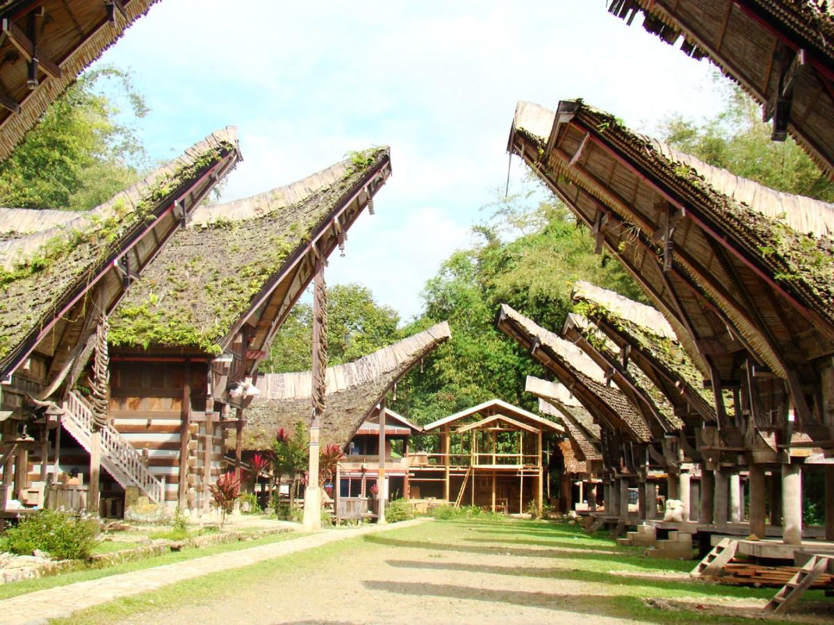 Mengenal Bagian-Bagian Tongkonan, Rumah Adat Toraja