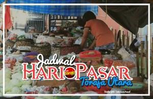 Jadwal Hari Pasar di Toraja Utara