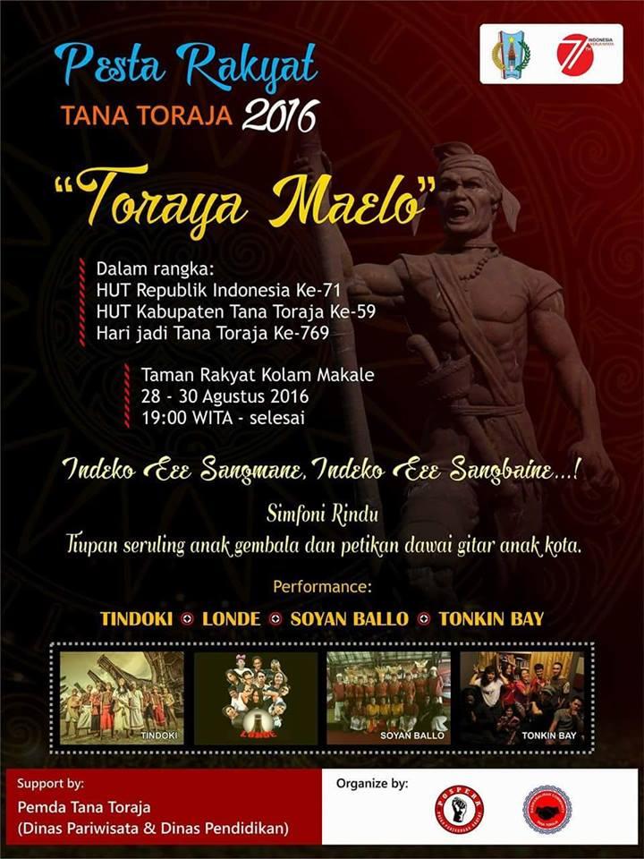 Pesta Rakyat Tana Toraja 2016