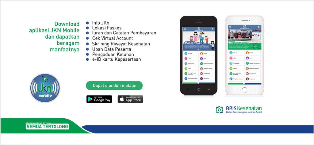 Aplikasi JKN Mobile tersedia di Play Store