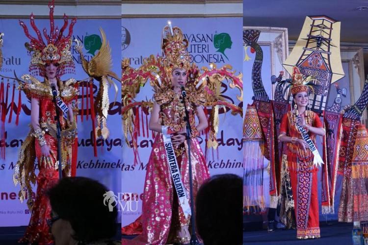 Top 3 Best Traditional Costume Pemilihan Puteri Indonesia 2018