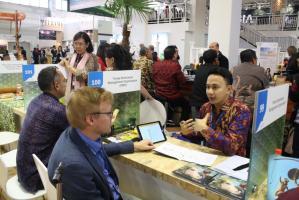 Destinasi Toraja mengikuti pameran pariwisata terbesar dunia, di Berlin, Jerman.