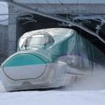 北海道新幹線開業【ホームの柱を作ったウエハース】