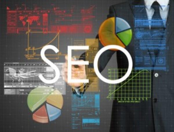 businessman writing. SEO. Search engine optimization.