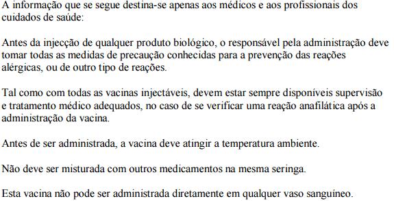 Pneumo 23 (pneumonias e outras infeções pneumocócicas)