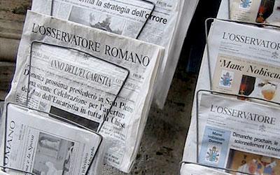 Resultado de imagen para medios vaticanos