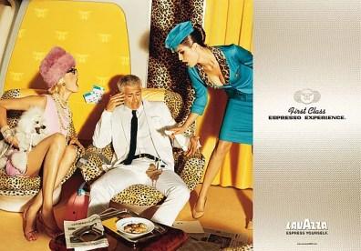 Lavazza 2006 by Ellen Von Unwerth with Kemp Muhl