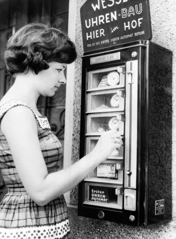Clock Vending Machine