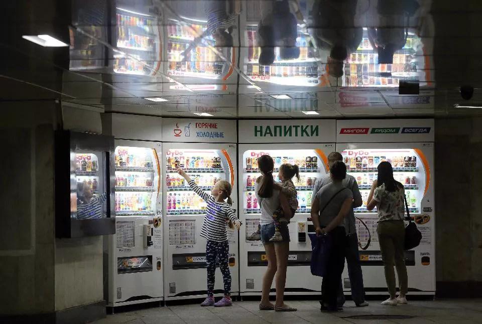 Вендинг в московском метро