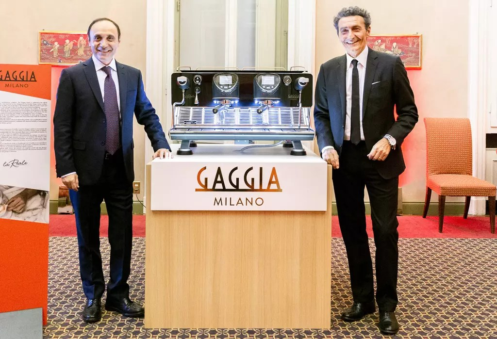 Evoca Group объявляет о повторном запуске Gaggia Milano