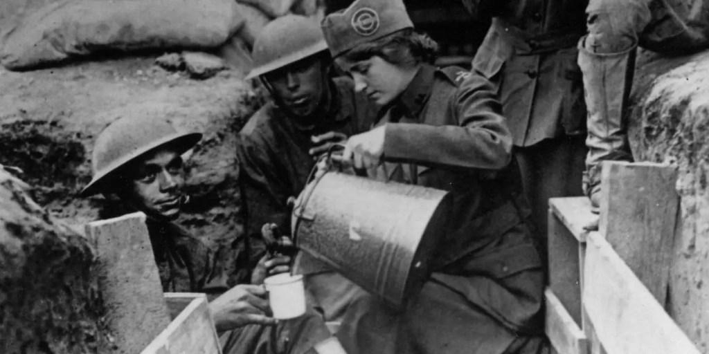 война и кофе
